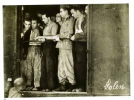 I treni, immagine dalla mostra '8 settembre 1943 Imi-Internati militari italiani', al Mart di Rovereto 6-29 settembre