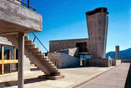 foto per servizio mostra Le Corbusier di Marsiglia