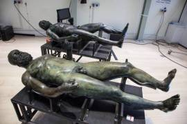 Bronzes of Riace return the National Archaeological Museum of Magna Grecia